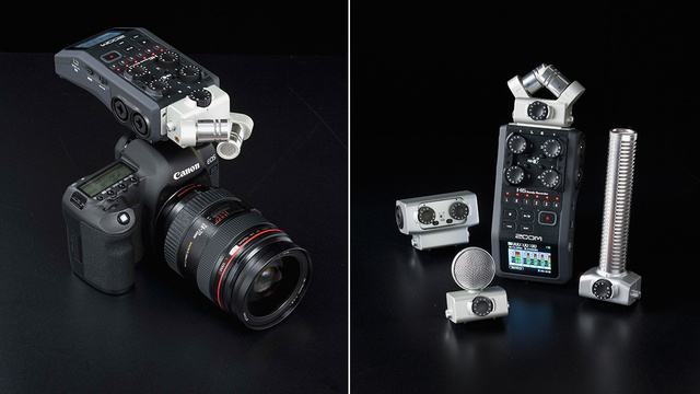 Zoom's New H6 Audio Recorder Will Make Any DSLR Filmmaker Salivate