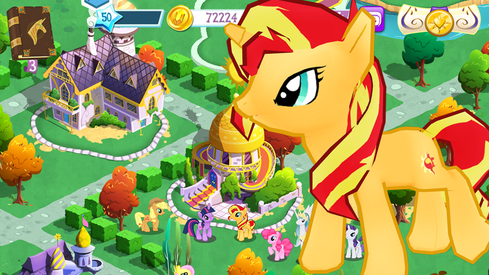 There's Already My Little Pony Movie Content In The Game