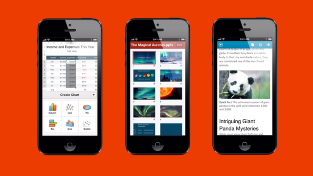 Microsoft Office For iOS Is Here (Finally)