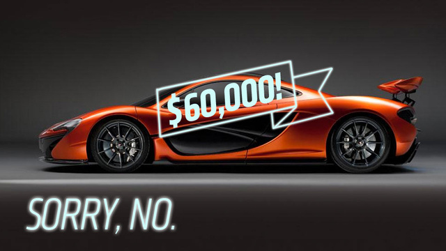 Four Things The Sales Director Of McLaren Says The Company Won't Do