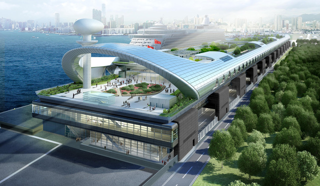 Hong Kong's Old Airport Reborn As Hong Kong's New Cruise Ship Terminal