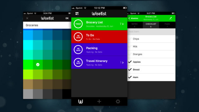 Wiselist Manages Tasks with Checklists, Notes, and File Attachments