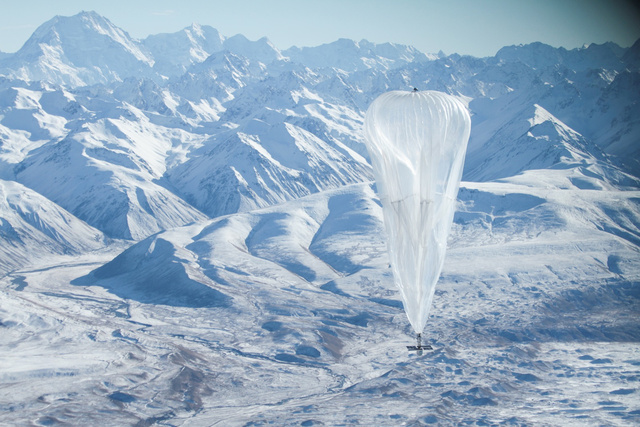 Google Wants to Use Balloons to Cover the World in Wi-Fi