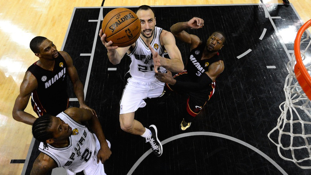 Manu Ginobili Is The Spurs' Counterpunch, And Miami's On The Ro…