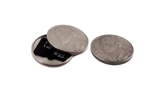 These Stash Coins Are a Fantastic Way to Lose Your SD Card