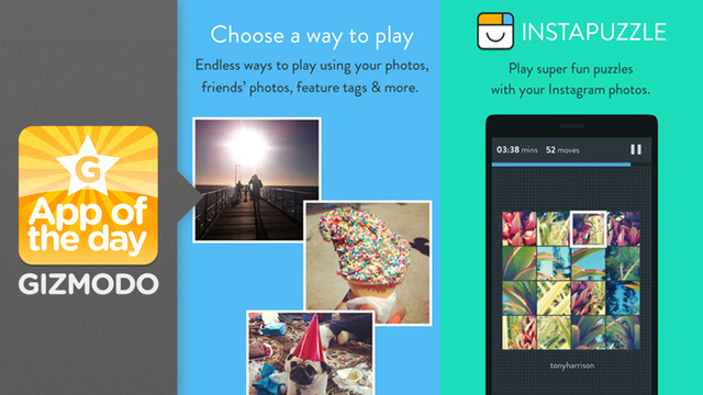 Instapuzzle: Your Friends' Boring Instagrams Are Better as Puzzles