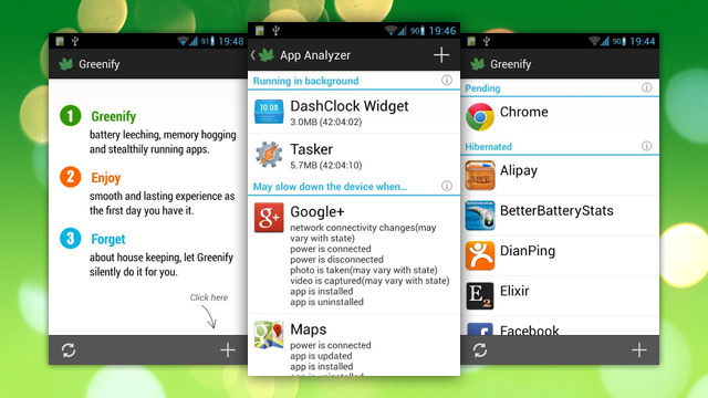 Greenify Auto-Hibernates Apps You're Not Using to Save Battery