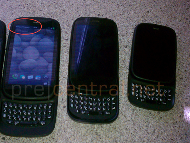 Leak: HP webOS Phone Looks Like Pre 3 Without Keyboard