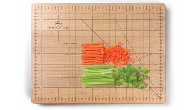 Indulge Your Desire for Precision With the OCD Cutting Board