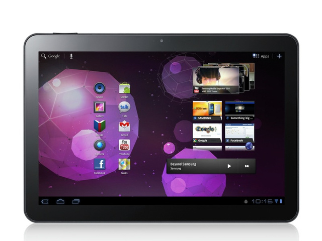 10-Inch Galaxy Tab 10.1 Takes Aim at Burgeoning Tablet Market