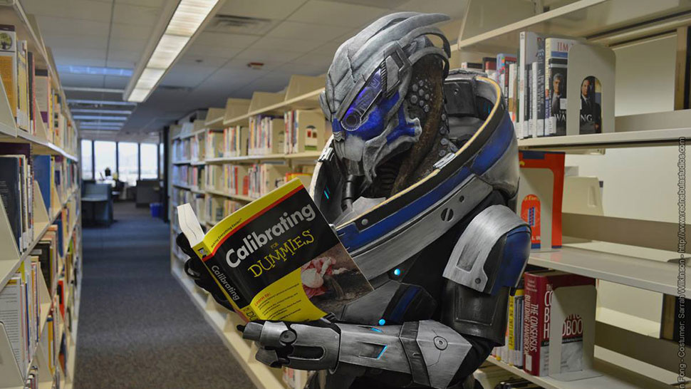 How Garrus Learned To Calibrate