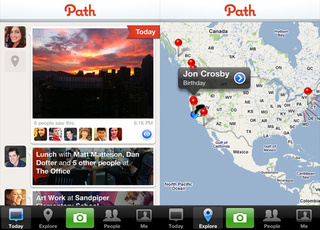 Social Networking iPhone App Path Shares Photos and Info With Closest Friends Only