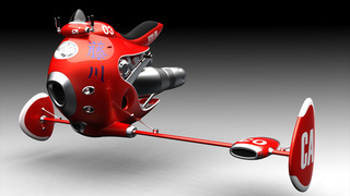 JetBike Concept: Speed Racer Wannabe or Futuristic Fire Fighter?