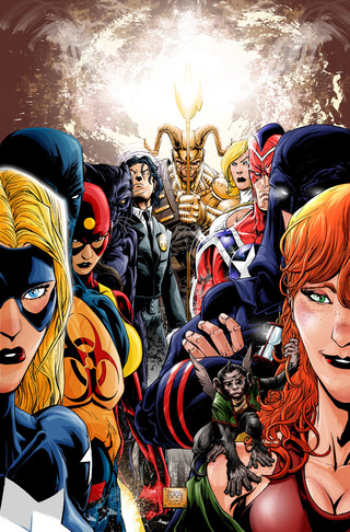Get Ready For Double The Old School Crimefighting As Justice Society Splits