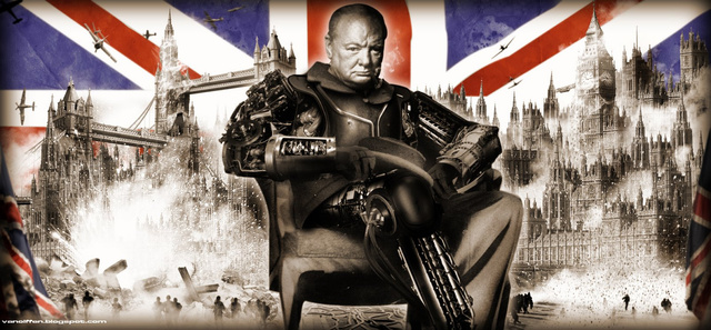 WWII Leaders Get a Dieselpunk Makeover