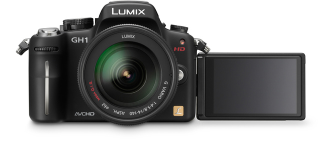 Panasonic Lumix DMC-GH1 Micro Four Thirds Sequel Shoots Full 1080p Video