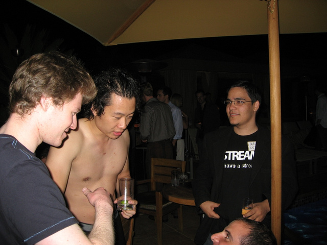 Justin Kan, raw and undressed, in kerfuffle at TechCrunch afterparty