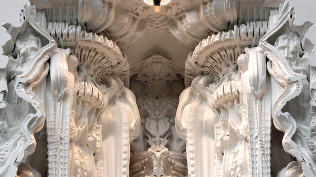 Artists Are 3D-Printing a Room That Looks Like An Alien Cathedral