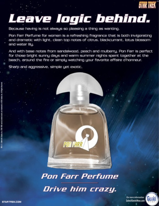 "Star Trek's Pon Farr Fragrance Ads Help You ""Leave Logic Behind"""