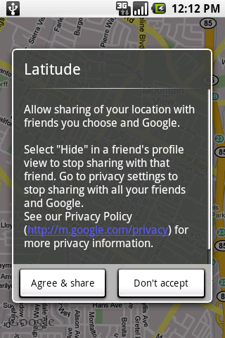 Google Latitude: Friend Finding Maps on Smartphones and PCs