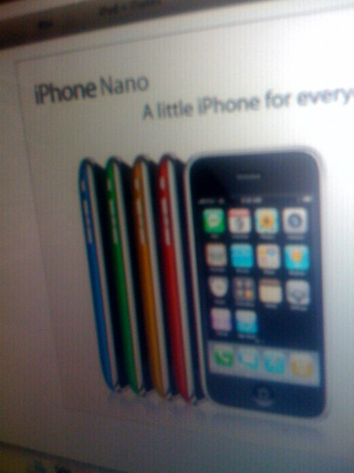 Fakemodo: Undeniable Evidence of iPhone Nano 3G ZOMG!