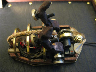 Intricate Steampunk Mouse Might Have Gone A Bit Far With the Whole 'Actual Mouse Spine' Thing