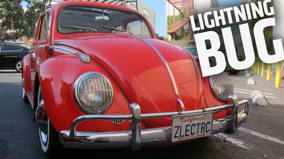 The Electric-Converted 1963 'Zelectric' VW Beetle Is A Charming EV