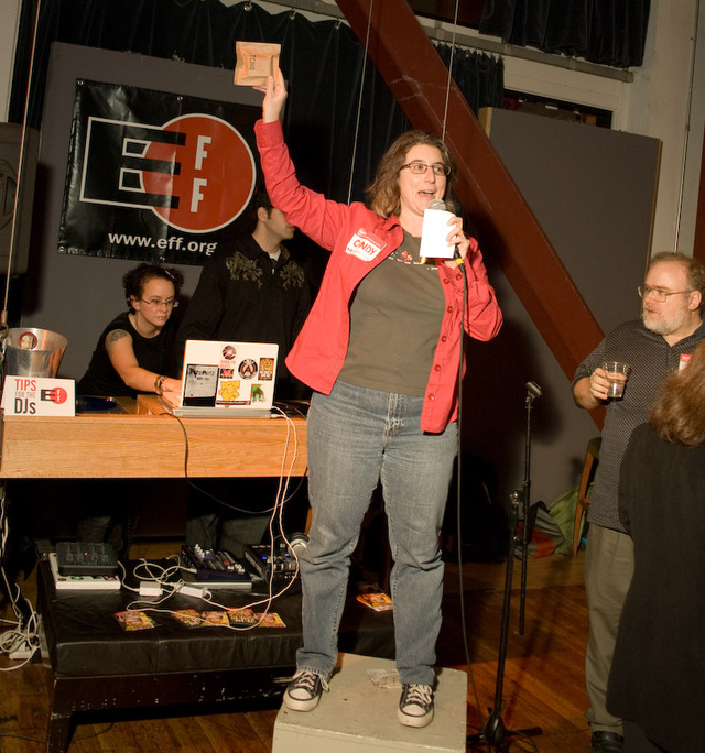 EFF party celebrates San Francisco cliches