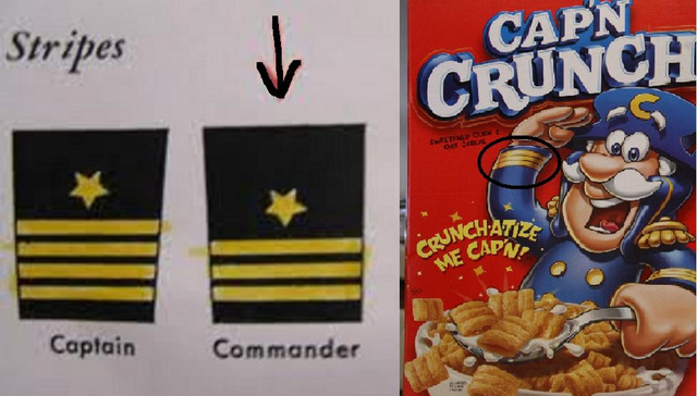 Cap'n Crunch Forced to Refute Claims That He's Not a Real Captain