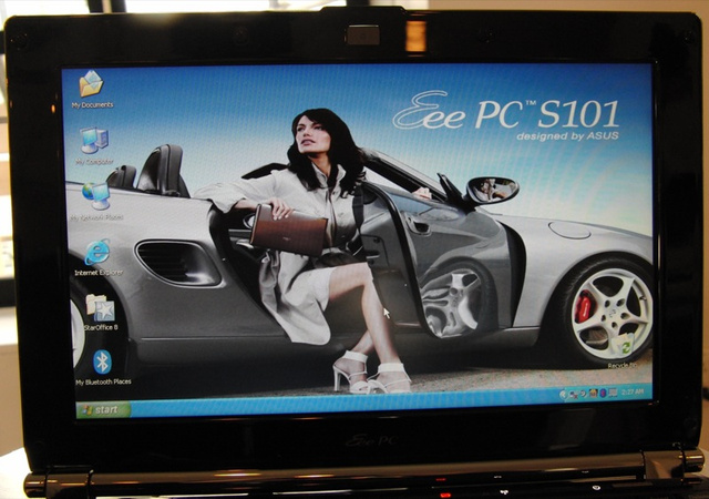 Hands On Asus Eee S101, Just as Slim and Air-y in Person