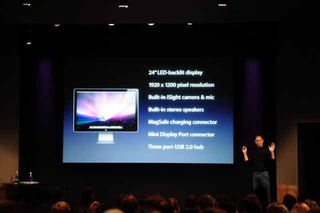 Apple's New 24-Inch LED Cinema Display With iSight is $899