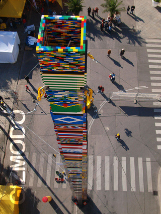 460,000-Brick Lego Tower Breaks World Record