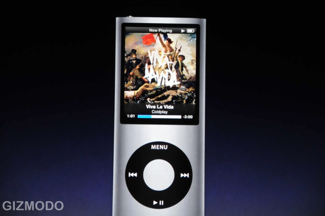 The New iPod Nano: It's Skinny Again