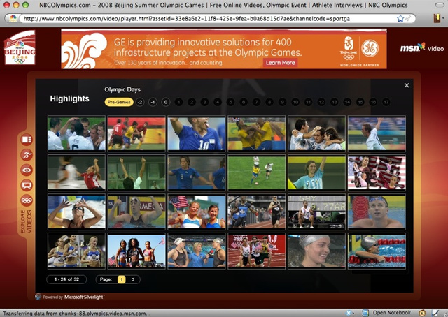 Olympics Watching: Ultimate PC/HDTV Strategy Guide