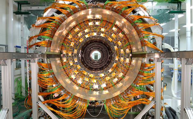 Large Hadron Collider Might Annihilate Humanity, But it Sure is Pretty