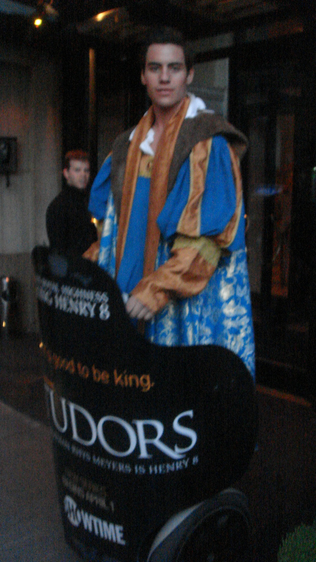 The Tudors Premiere