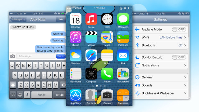 How to Make Your iPhone Look Like iOS 7 Right Now