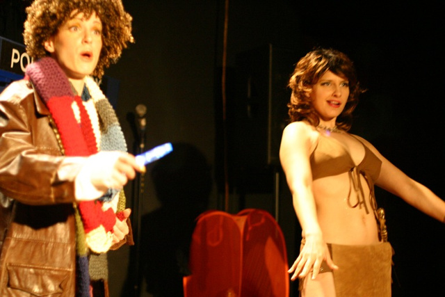 Doctor Who And The Naked Breasts Of Doom (NSFW)