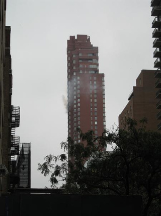 First Photos: Plane Crashes into Manhattan Building