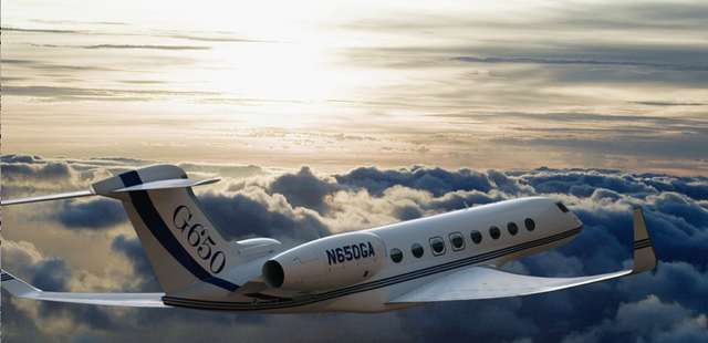 Near-Supersonic Gulfstream 650 Unveiled, Steve Jobs Gets Excited