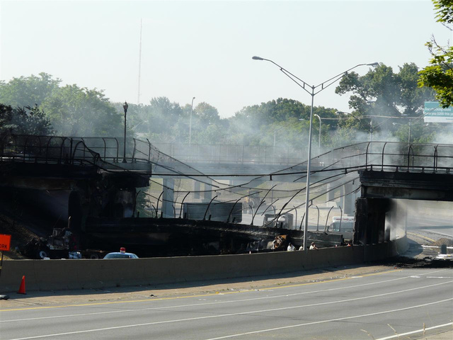 Detroit I-75 Bridge Collapse Mega-Gallery