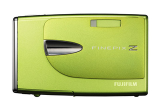 Fujifilm's Z20fd Slim Cam In Fresh Colors, With Dual Blog Mode