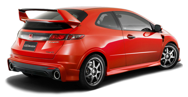Winged UKDM Mugen Civic Type-R 3D For Hardcore Boy Racers