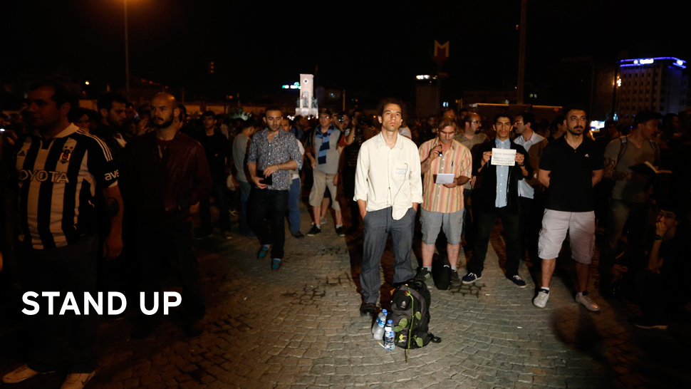 """Standing Man"": Turkey's Eerie, Powerful New Protest Movement"