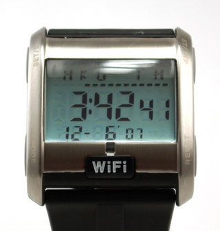 Wi-Fi Detecting Watch, The Broadband Sniffer for Your Wrist