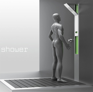 Slider Shower Concept— Now You See It, Now You Don't