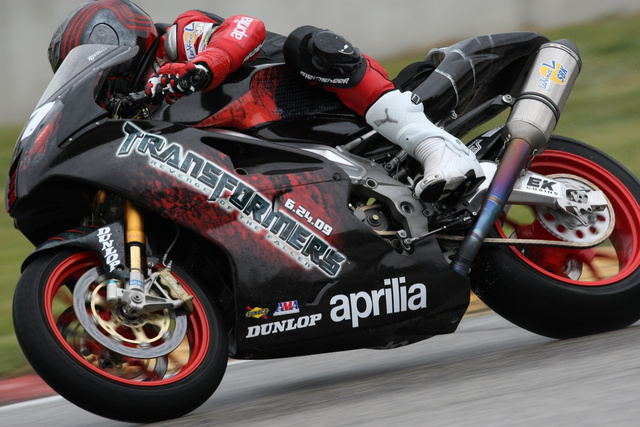 Aprilia Races RSV 1000 R With Transformers Livery, First Sign Of Human Enslavement?