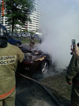 In Soviet Russia, Half-Hour-Old Ferrari Fires You!