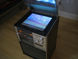 '80s Stereo Turned Into a HTPC