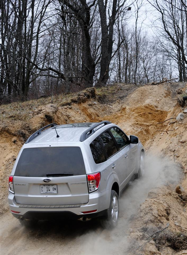 2009 Subaru Forester: Unsupervised Off-Road Mayhem